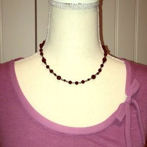 Jewelry - Black beaded necklace